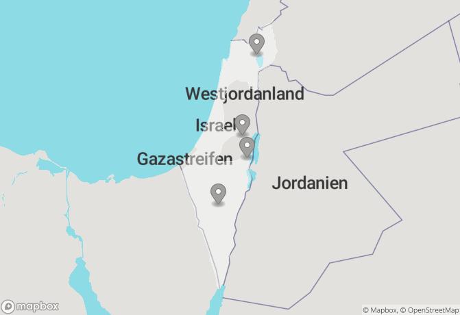 Israel ─ Krater, Wüste, Totes Meer Rundreise buchen ...