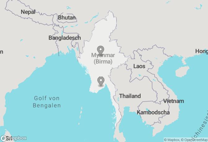 Meeresbrise und Myanmar (15 + 9 Tage) Rundreise buchen ...
