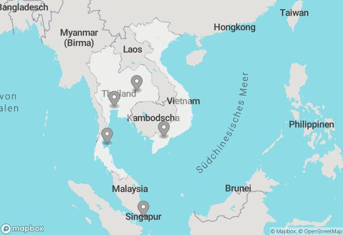 Meeresbrise und Singapur (15 + 4 Tage) Rundreise buchen ...